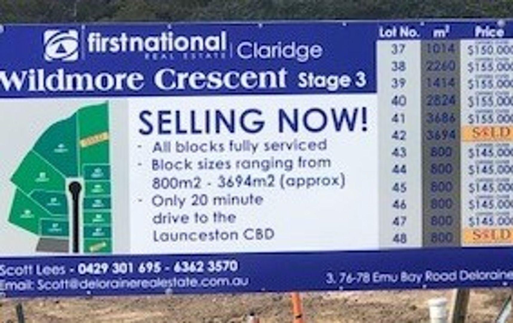 Lot 43, 44, 45 & 47 Wildmore Crescent, Exeter TAS 7275, Image 0