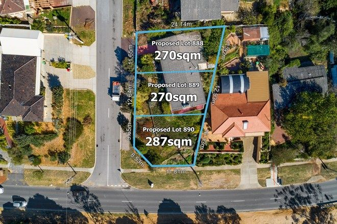 Picture of LOTS 1,2 & 3... 1 COLEMAN WAY, KARRINYUP WA 6018