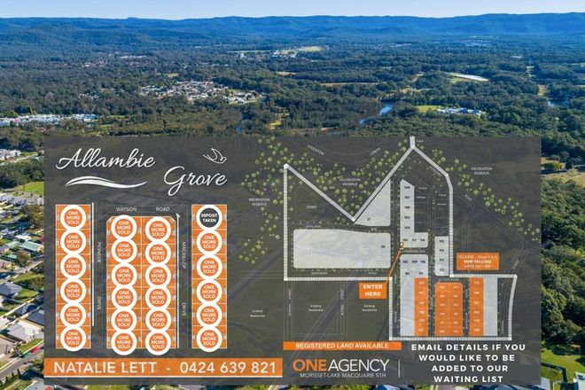 Picture of 24 Lots Enter from Bridge Street, MORISSET NSW 2264