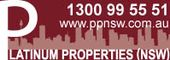 Logo for Platinum Properties (NSW)