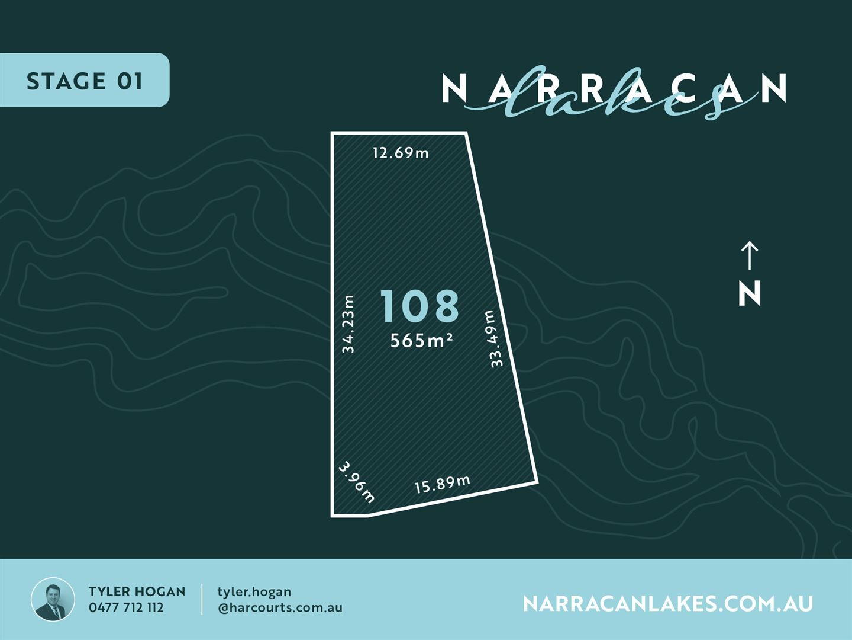 Lot 108 Narracan Lakes, Newborough VIC 3825, Image 0