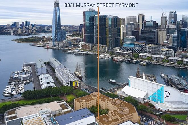 Picture of 83/1 Murray  Street, PYRMONT NSW 2009