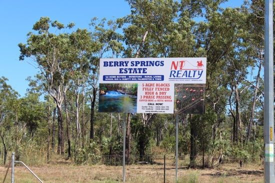 BERRY SPRINGS ESTATE, Berry Springs NT 0838, Image 2