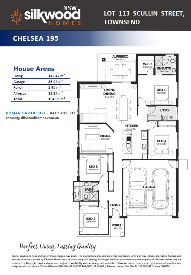 Lot 113  Scullin Street, Townsend NSW 2463, Image 2