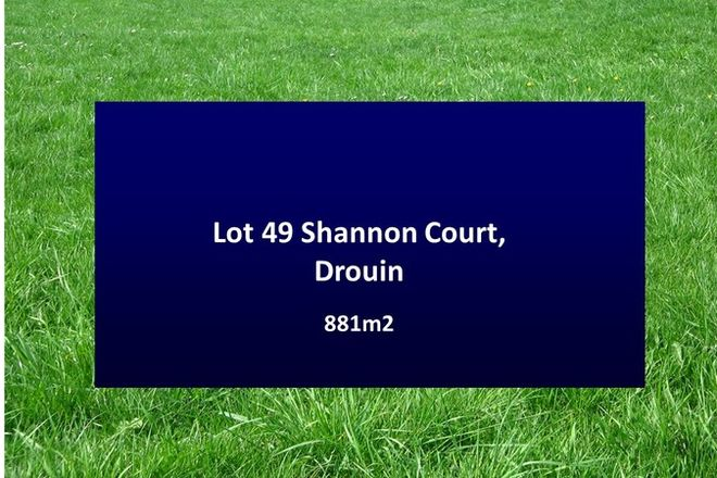 Picture of 49 Shannon Court, DROUIN VIC 3818