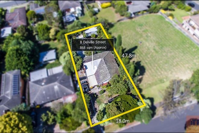 Picture of 8 Delville Street, MOOROOLBARK VIC 3138