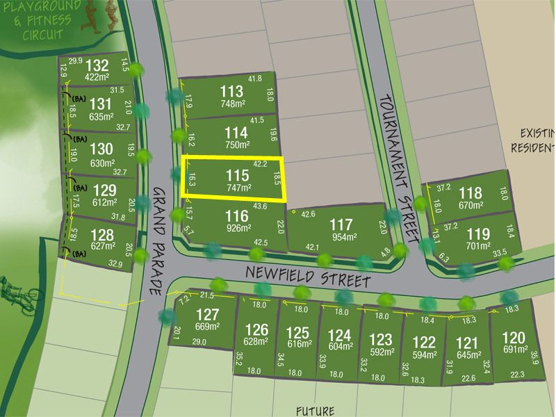 Lot 115 Grand Parade, Rutherford NSW 2320, Image 1