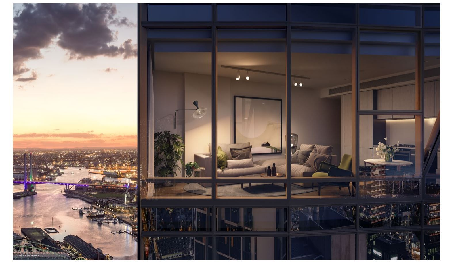 2 bedrooms New Apartments / Off the Plan in  MELBOURNE VIC, 3000