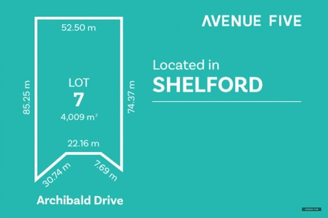 Picture of Lot 7 Archibold Drive, SHELFORD VIC 3329