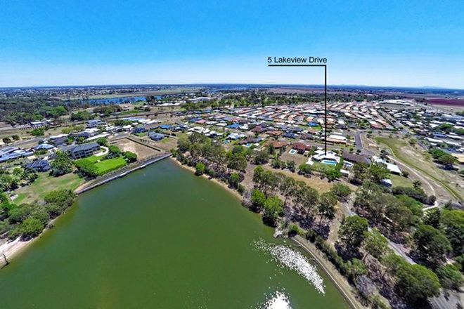 Picture of 5 Lakeview Drive, BUNDABERG NORTH QLD 4670