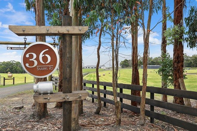 Picture of 36 Barrys Road, BARONGAROOK WEST VIC 3249