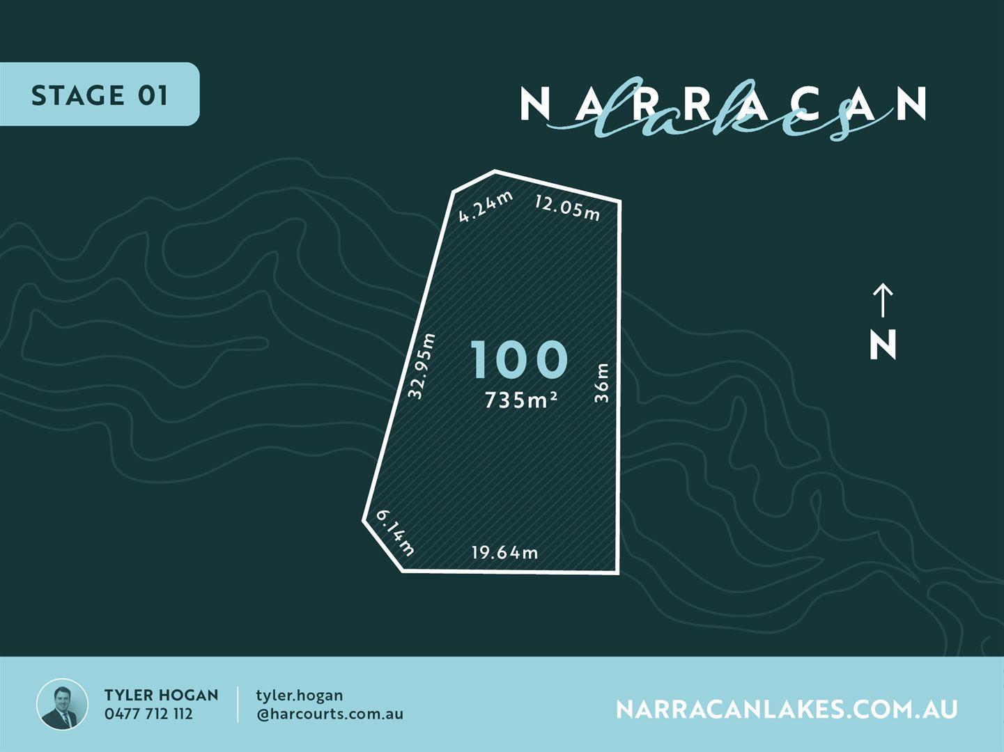 Lot 100 Narracan Lakes, Newborough VIC 3825, Image 0