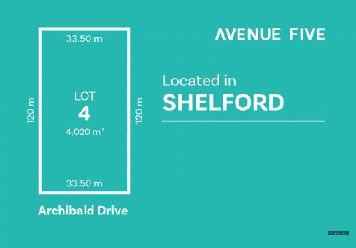 Lot 4 Archibold Drive, Shelford VIC 3329, Image 0