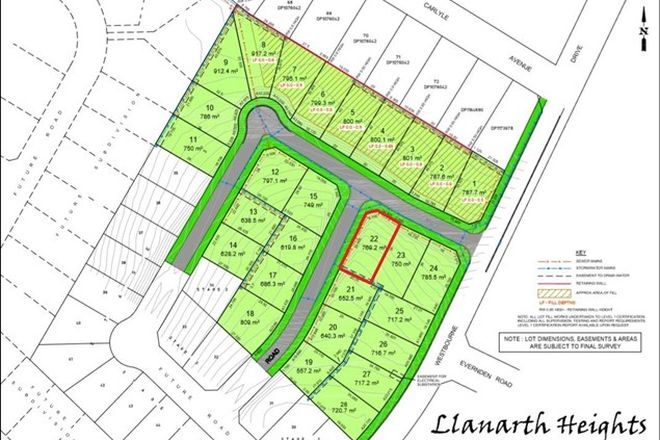 Picture of Lot 22 Westbourne Drive, LLANARTH NSW 2795