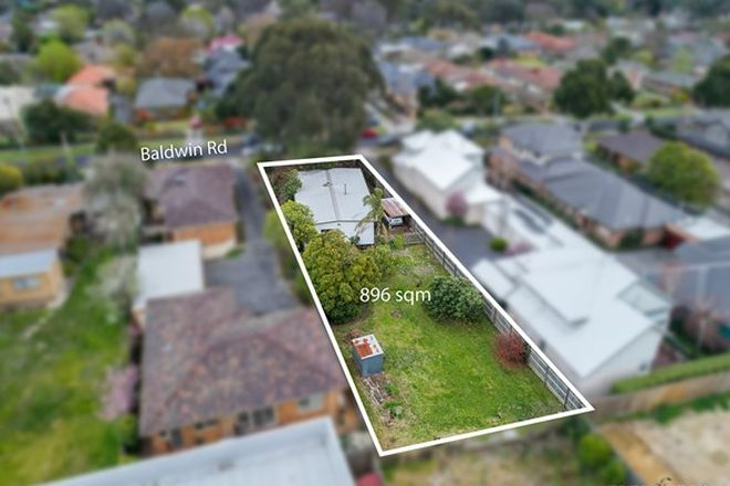 Picture of 23 Baldwin Road, BLACKBURN VIC 3130