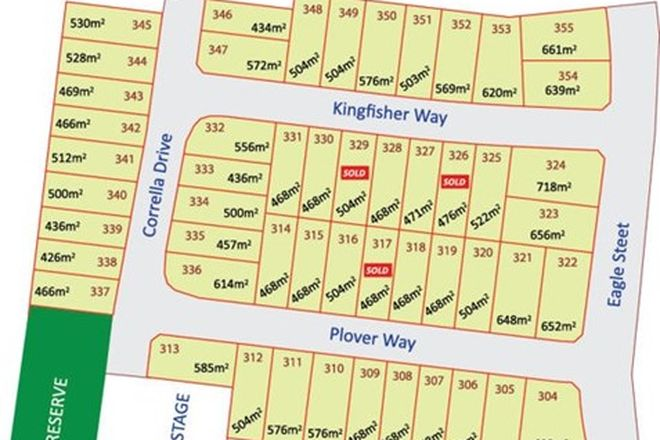 Picture of lot 319 Plover Way, WALLAN VIC 3756