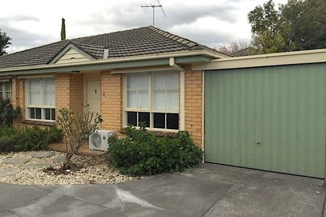 Picture of 6/58 Coorigil Road, CARNEGIE VIC 3163