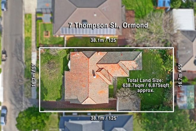 Picture of 7 Thompson Street, ORMOND VIC 3204