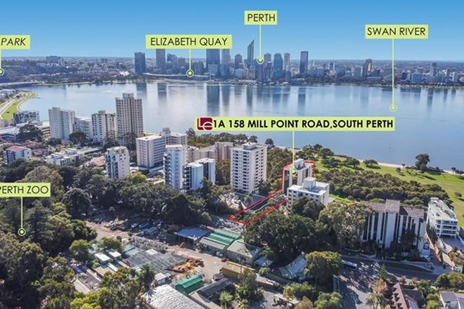 Picture of 1a/158 Mill Point Road, SOUTH PERTH WA 6151