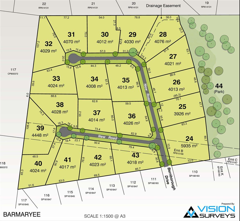 Lot 33 Bernborough Drive, Barmaryee QLD 4703, Image 0