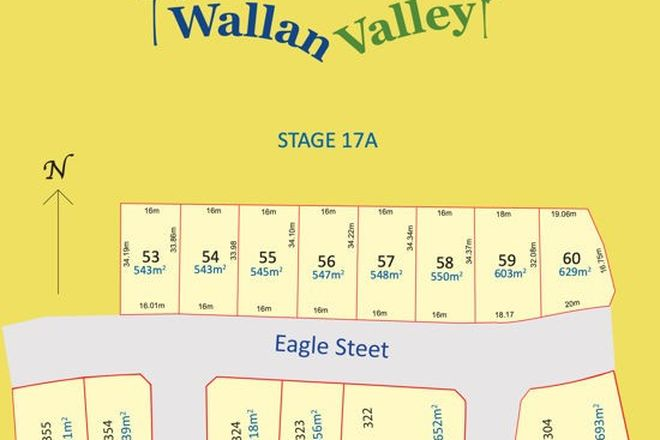 Picture of Lot 57 Eagle st, WALLAN VIC 3756