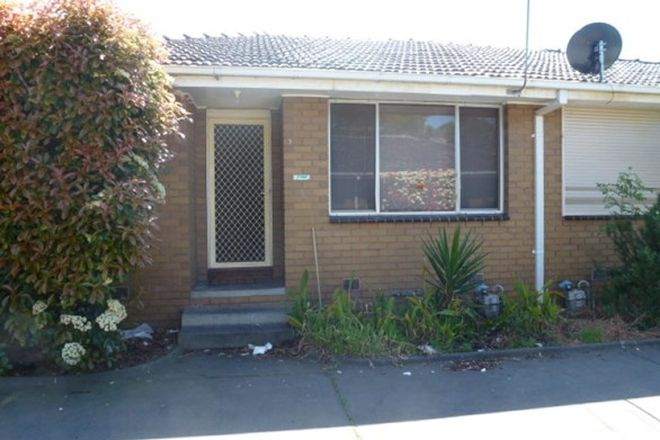 Picture of 3/131 High Street, THOMASTOWN VIC 3074