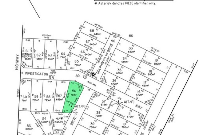 Picture of Lot 56,/10 Investigator Way, MARION BAY SA 5575