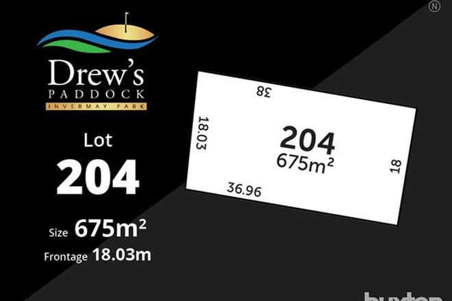 Picture of Drews Paddock/Lot 204 Divot Court, INVERMAY PARK VIC 3350