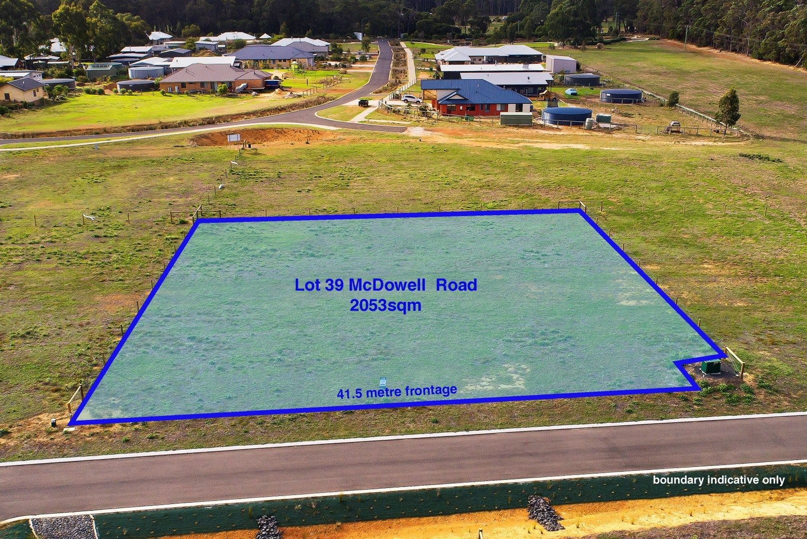 Lot 39 McDowell Road, Witchcliffe, Margaret River WA 6285, Image 0