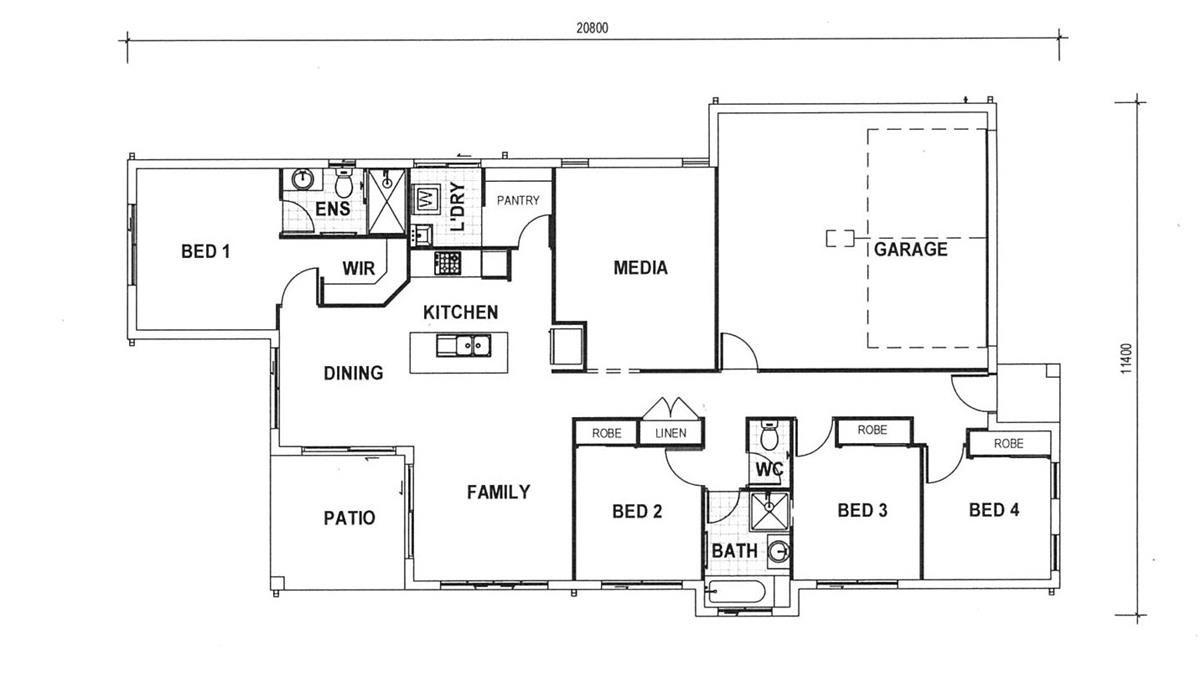 Lot 1084 Periwinkle Way, Kalynda Chase, Bohle Plains QLD 4817, Image 1