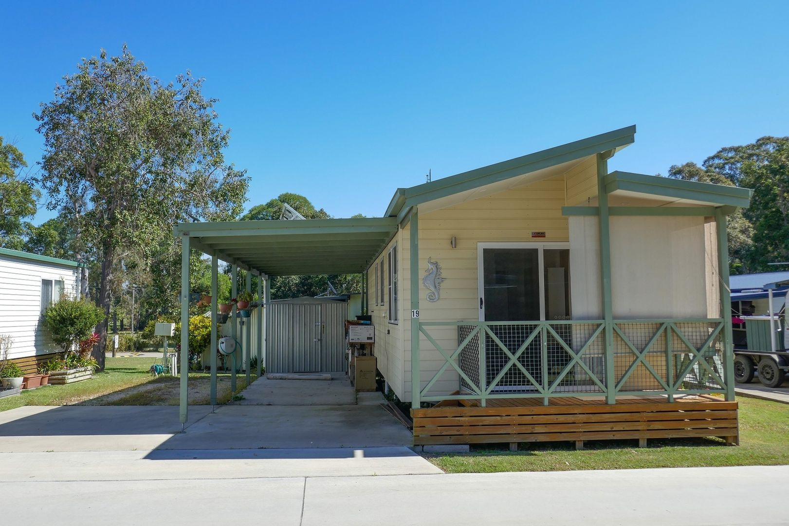 Site 19 Bimbimbi Riverside Caravan Park, Woombah NSW 2469