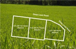 Lot 1, C/A 245 & C/A 246 Deep Lead Road, Stawell VIC 3380