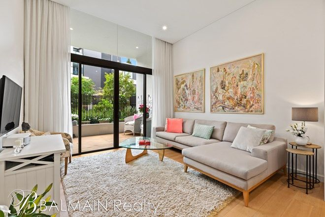 Picture of 105/1 Nagurra  Place, ROZELLE NSW 2039
