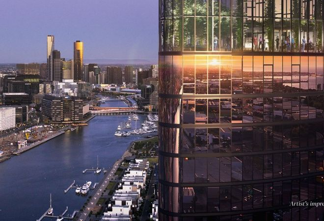 Picture of 10.05/103 South Wharf Drive, Docklands