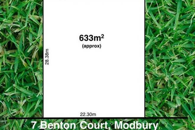 Picture of 7 Benton Court, MODBURY SA 5092