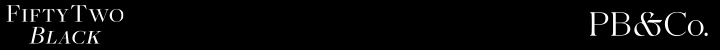 Branding for 52 Black