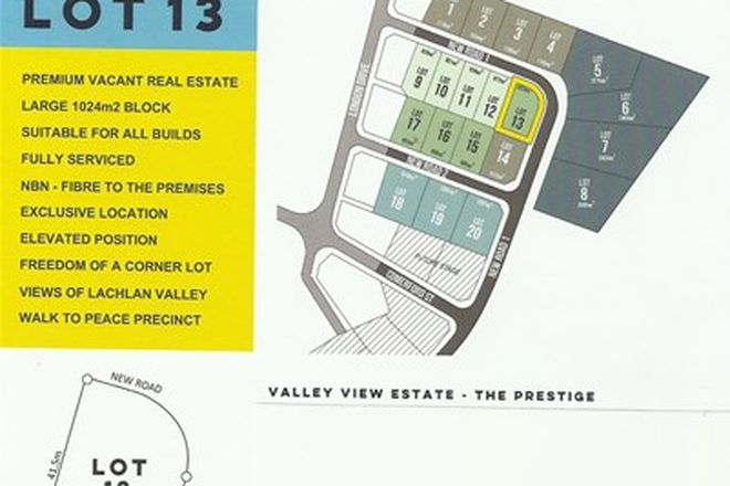 Picture of LOT 13 VALLEY VIEW ESTATE, COWRA NSW 2794