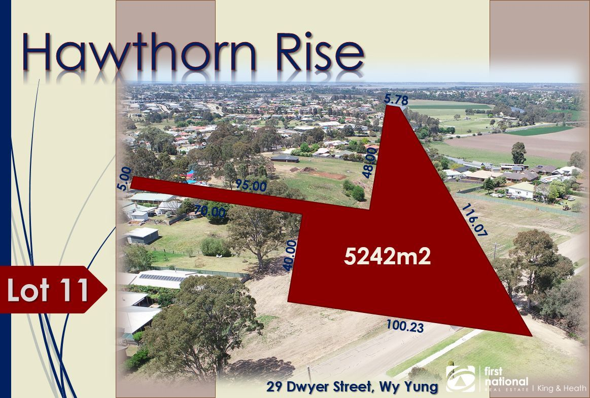 Lot 11 29 Dwyer Street, Wy Yung VIC 3875, Image 0