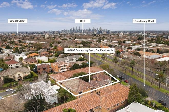 Picture of 1-6/446 Dandenong Road, CAULFIELD NORTH VIC 3161
