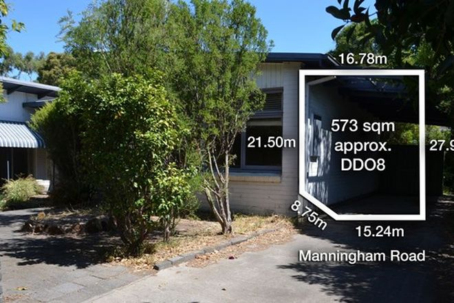Picture of 262 Manningham Road, TEMPLESTOWE LOWER VIC 3107