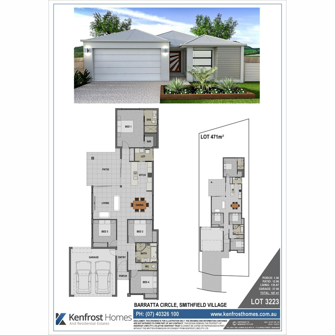 Lot 3223 Barratta Circle, Trinity Park QLD 4879, Image 1