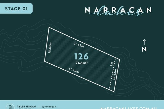 Picture of Lot 126 Narracan Lakes, NEWBOROUGH VIC 3825