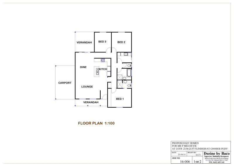 Lot 2136/2137 Flinders St, Coober Pedy SA 5723, Image 1