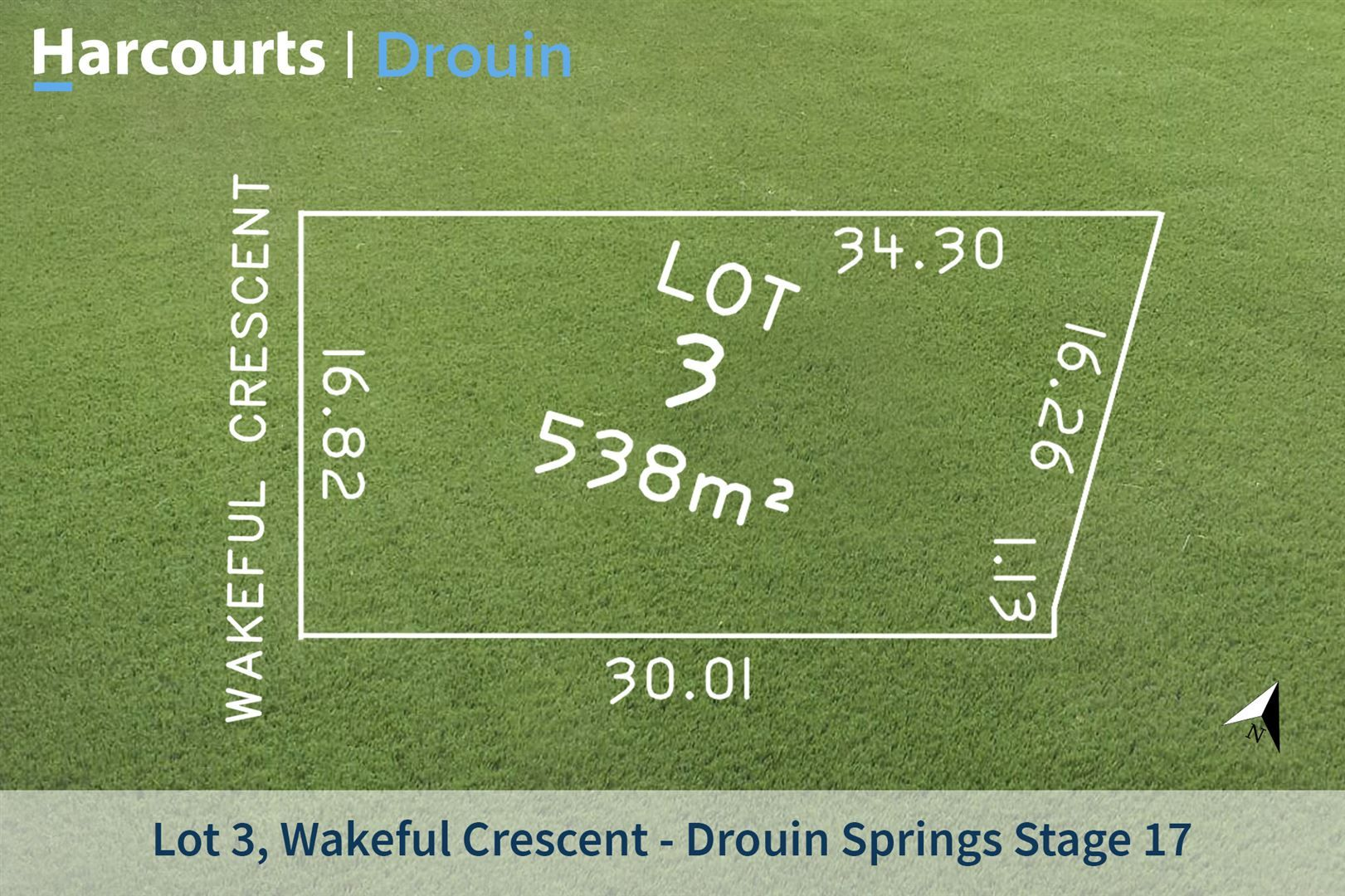 Lot 3 Wakeful Crescent, Drouin VIC 3818, Image 1