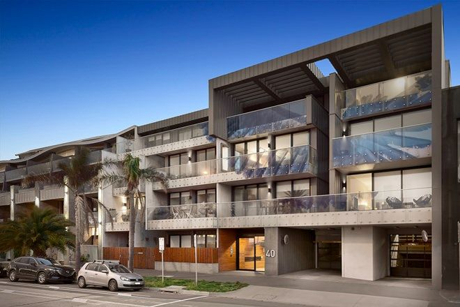 Picture of 109/40 Beach Street, PORT MELBOURNE VIC 3207
