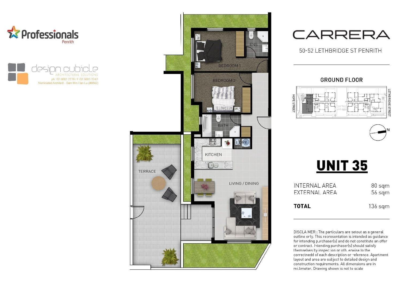 35/50-52 Lethbridge Street, Penrith NSW 2750, Image 2