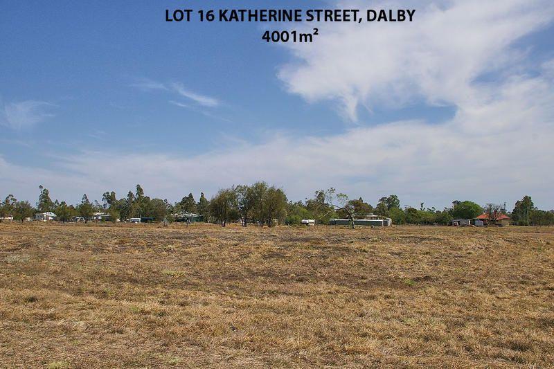 Lot 16 Katherine Street, Dalby QLD 4405, Image 0