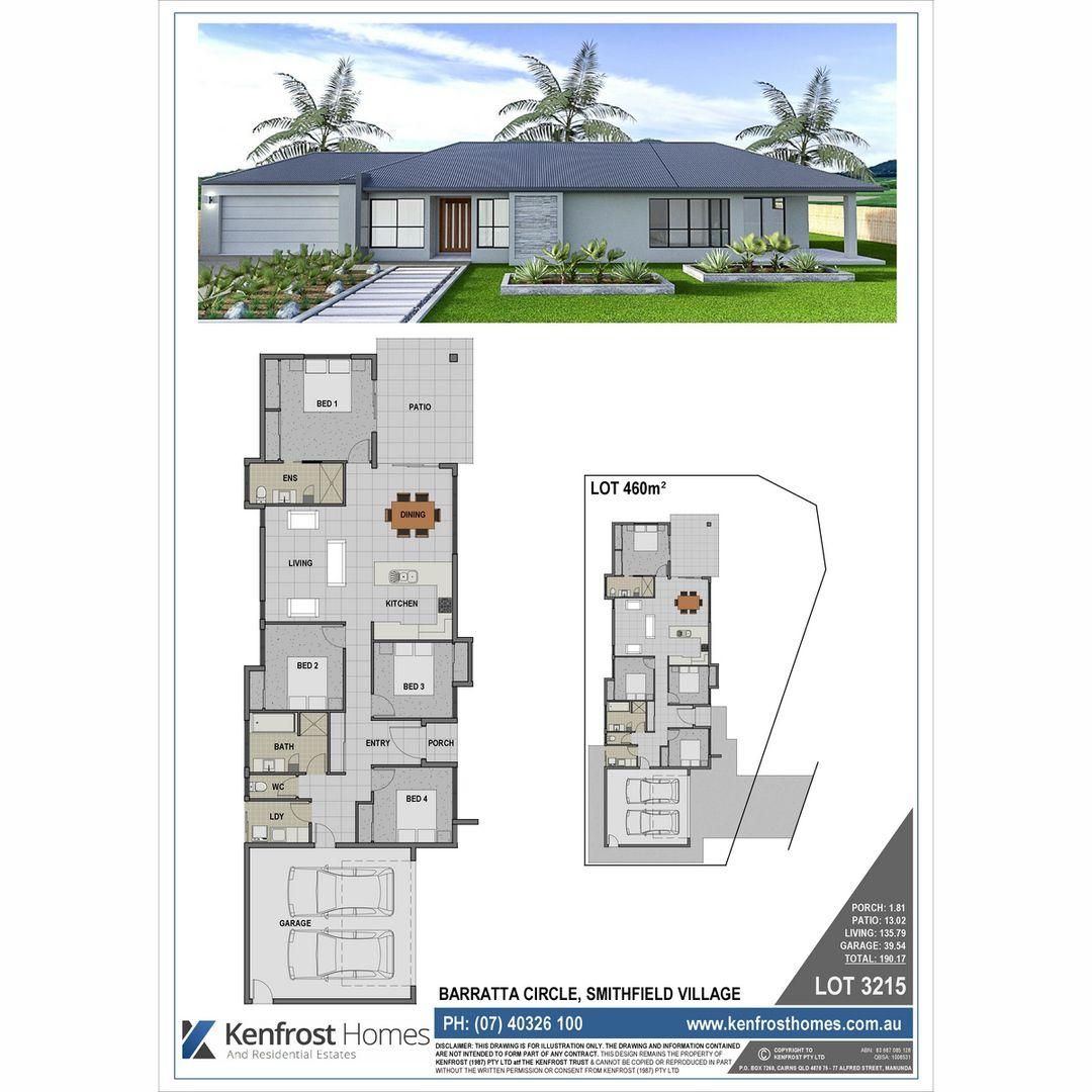 Lot 3215 Barratta Circle, Trinity Park QLD 4879, Image 2