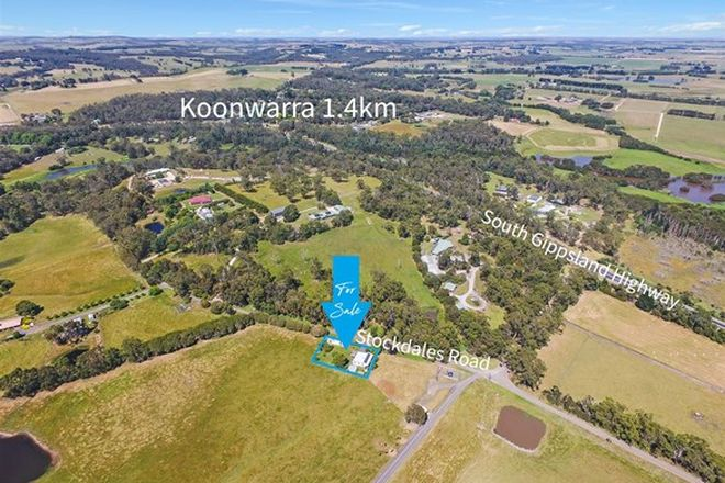 Picture of 81 Stockdales Road, KOONWARRA VIC 3954