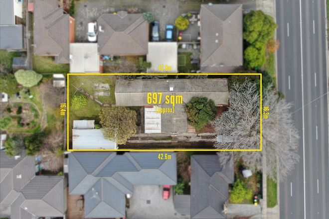 Picture of 648 Warrigal Road, OAKLEIGH SOUTH VIC 3167